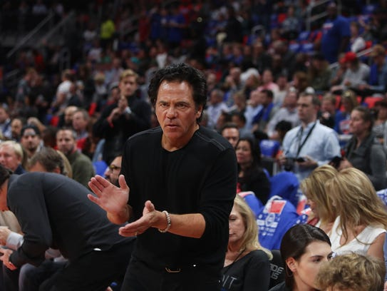 Pistons owner Tom Gores.