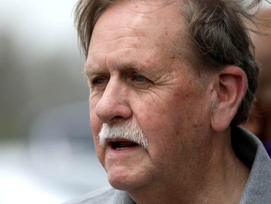 Ed Zarzycki, father of Cindy Zarzycki whose body was