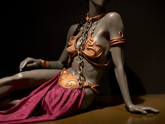 Princess Leia's slave costume from Jabba's Palace is