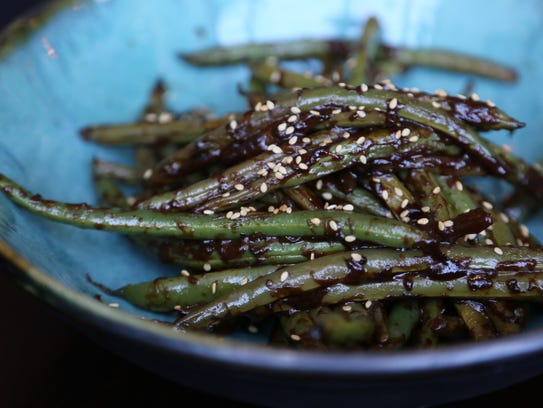 Thai green beans with spicy peanut sauce from the forthcoming ...