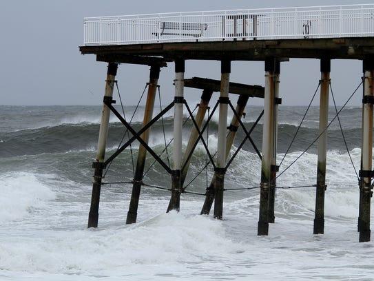 Hurricane Jose Felt In Belmar