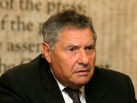 (PICTURED) Incumbent Senator Robert Singer, (R-Island