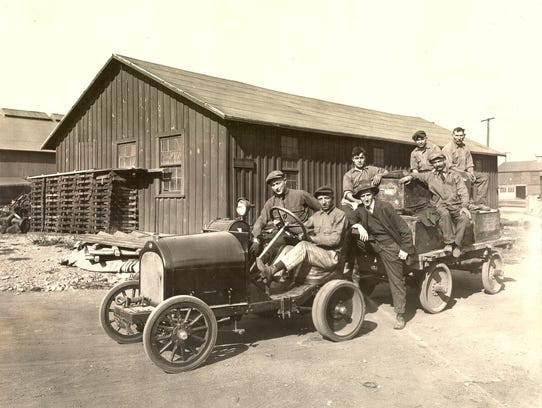 A Willys-Morrow truck, around 1920.