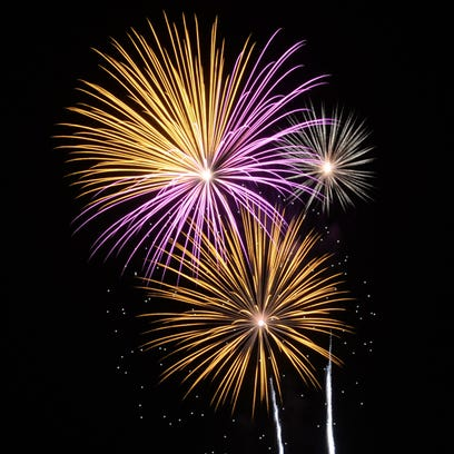 Fourth of July fireworks light up the sky Saturday,
