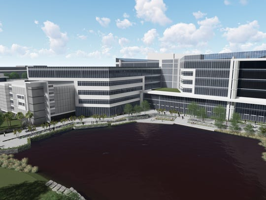 Rendering of Arthrex administration building