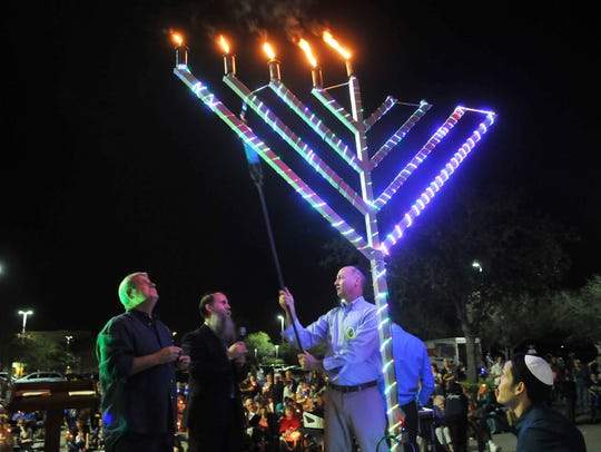 The Chabad of the Space and Treasure Coast held a
