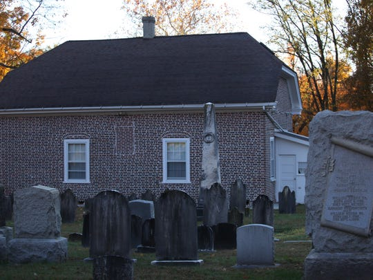 The Welsh Tract Church in Newark.  The site is supposedly haunted by a headless horseman.