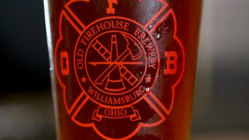 A beer from Old Firehouse Brewery in Williamsburg.
