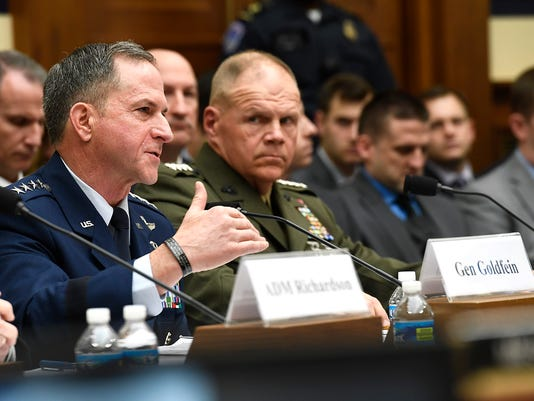 Goldfein Testifies to House Armed Services Committee on Continuing Resolution