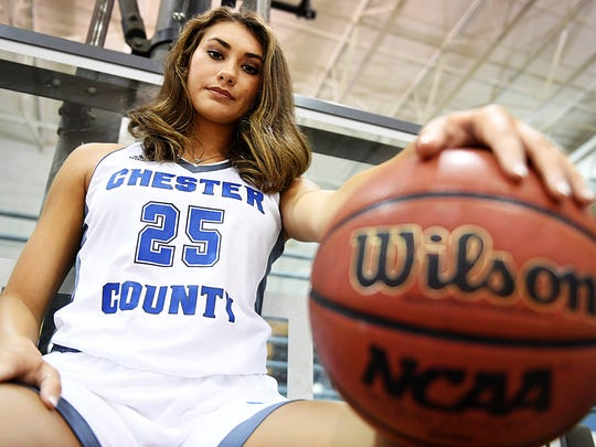 The 2017 All-West Tennessee Female Athlete of the Year is Chester County's Paige Pipkin.