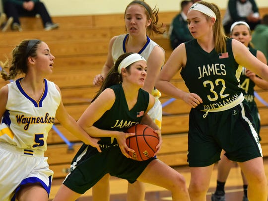 The finals in the Franklin County Basketball Tip-off Tournament was held Saturday, Dec. 9, 2017 at Greencastle.