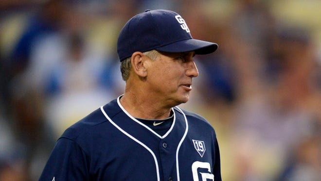 Bud Black managed the San Diego Padres from 2007-2015.