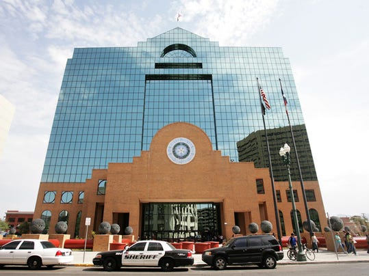 The County Courthouse is among the buildings that faled a recent fire code inspection in Downtown.