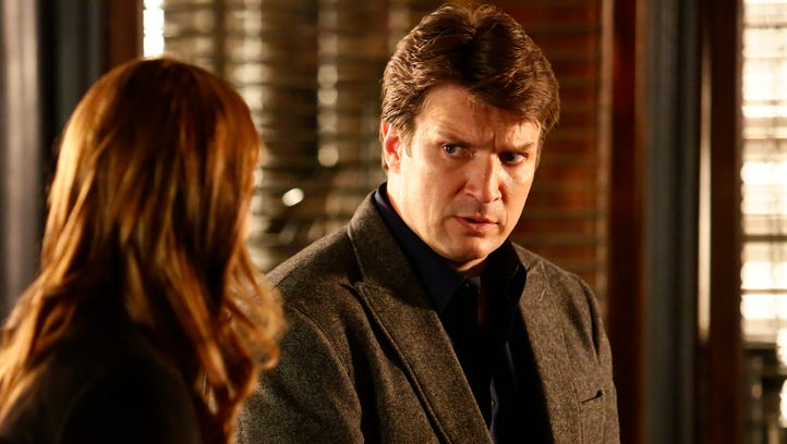 'Castle' was the top pick in USA TODAY's 19th annual Save Our Shows poll, but if the ABC drama returns for a ninth season, it will do so without co-star Stana Katic (left), with Nathan Fillion.