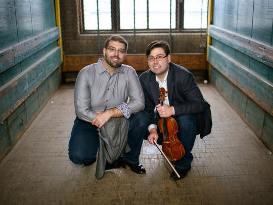 Irrera Brothers, performing at St. Monica's Episcopal