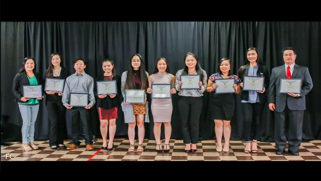 The 2018 Hmong Service Center Inc. scholarship recipients.