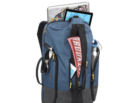 The Velocity Backpack Duffel is just that -- a backpack