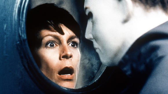 Laurie was face to face with Michael Myers again in