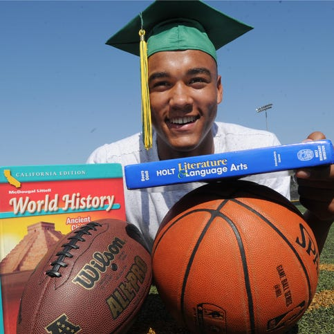 Moorpark High's Isaiah Hogan is The Star's Boys Scholar-Athlete of the Year for 2017-18
