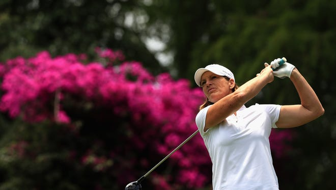 Julie Inkster eyes a fifth Legends Tour title. The event begins Saturday on the Player Course at Geneva National.