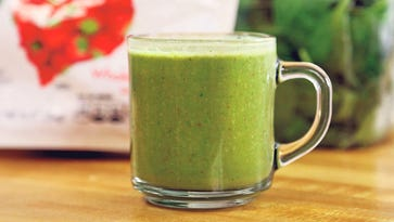 Make it together: A smoothie that even a frog could love