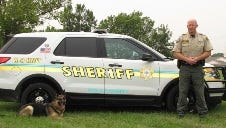 Deputy Mohr and K-9 Dameon