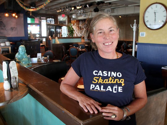 Marilyn Schlossbach, owner of Langosta Lounge in Asbury
