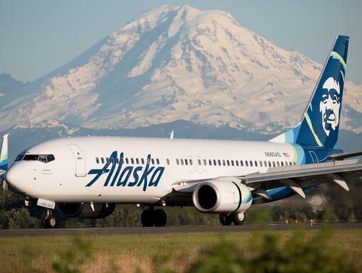 Sporting the airline's recently updated livery, an