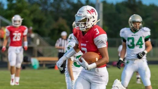 Wisconsin Rapids' Isaiah Westfall had a big night Friday against Oshkosh North as the Raiders improved to 2-1 overall.