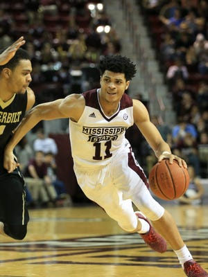 Quinndary Weatherspoon and Mississippi State will open the Charleston Classic against Central Florida.