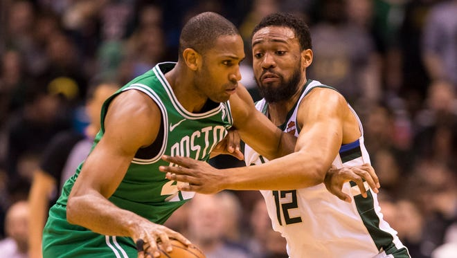 Al Horford has averaged 18.8 points in four games against the Bucks this season.