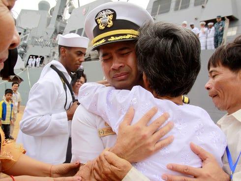 U.S. navy officer Michael
