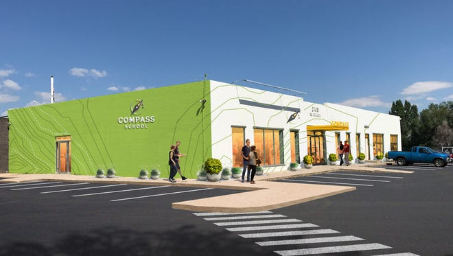 Compass Charter School will open in the fall at the site of a previously planned apartment complex.