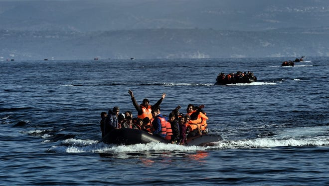 Image result for 58 migrants drown attempting to reach land