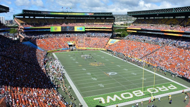 General view of the 2016 Pro Bowl at Aloha Stadium.