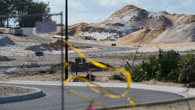 Meritage Homes, the developers of the land once owned by Frances Langford, seen Monday, Jan. 9, 2017, near Jensen Beach, broke two Martin County building regulations on the 53-acre property by hauling soil and debris off-site and improperly treating soil. The developers must complete improvements or face a $500 daily fine per each violation.