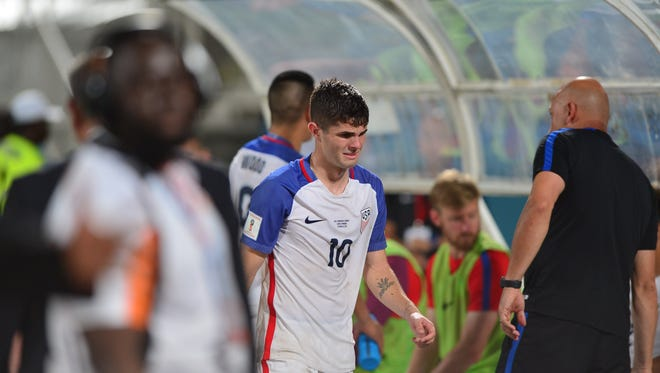 Although he was its best attacking player. Christian Pulisic could not get the U.S. men's national team into the World Cup.