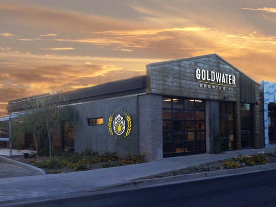 Goldwater Brewing Co. will open in Scottsdale in early May.