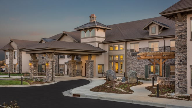 An exterior photo of Meridian Realty Advisors'  recently completed project in Lafayette, Colo. The Nashville project should have a similar exterior appearance.