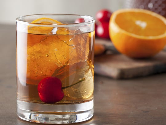 Old fashioneds are the drink of choice at Wisconsin supper clubs.