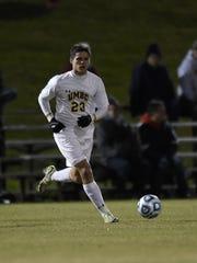 Pocomoke grad Jordan Becker helped UMBC's soccer team