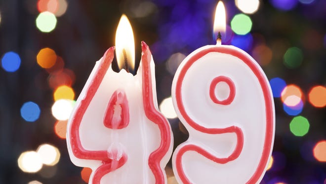 Candle number 49