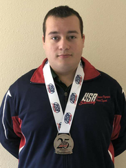 Kyler Swisher will compete in his first international
