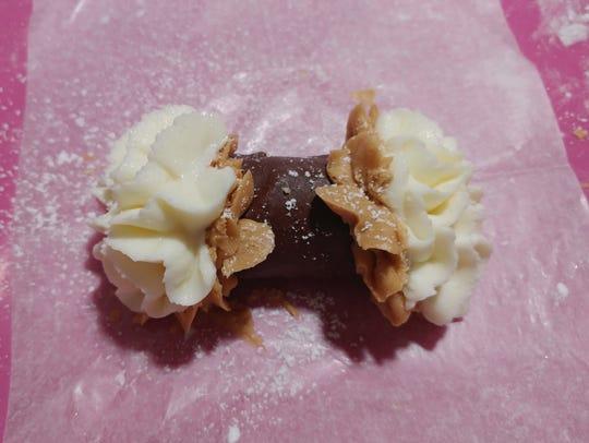 "Simply Cannoli's ""Chocolate Peanut Butter Cannoli"""