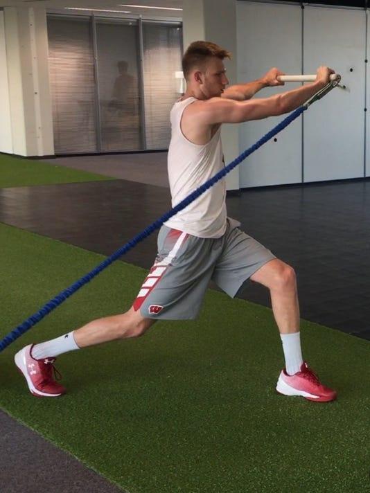 Andy Van Vliet workout