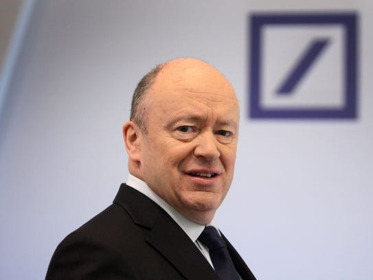 File photo taken in  2018 shows John Cryan, CEO of