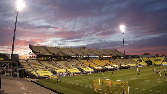 The Crew played host to the Philadelphia Union at Mapfre Stadium on Wednesday with about 250 family members and friends of players and staff in attendance.