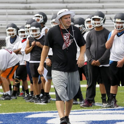 Video: Express football team gets started