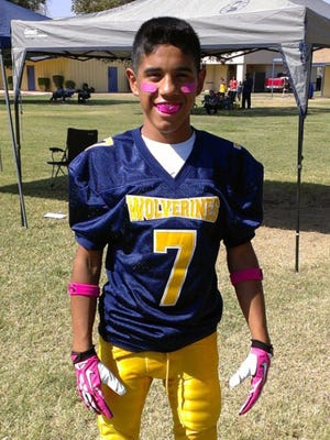 Instead of starting high school and playing football, Josh Villarreal, 14, battled cancer.