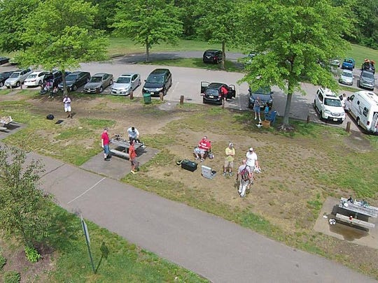 Aerial shot provided by Donovan Gardner's drone